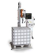 Advanced Line type 26 - Filling equipment for the automatic and calibrated filling of IBCs, drums and containers standing on a pallet.