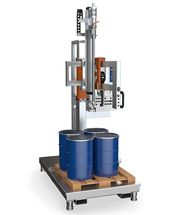 Compact Line type 17 - Highly flexible coordinate pallet filling station with comprehensive product file