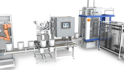 Automatic pail filler INTEGRA® RF