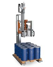 Slim Line type 6 - Just Fill: Equipment offering the highest return on investment and designed for filling IBCs, drums and containers standing on pallets.