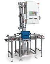 Compact Line type 14 - Pre-configured can filling station, also with product flow control for the filling of containers up to 60 kg