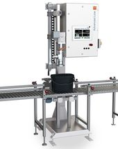 Advanced Line type 24 - Sturdy and complex pail filling equipment that is also suited for the filling of cans.