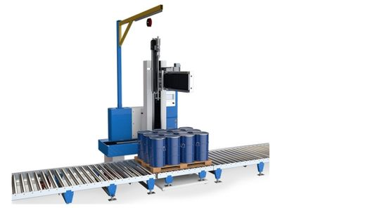 Automatic Pallet Filling Equipment Compact Line Type 37