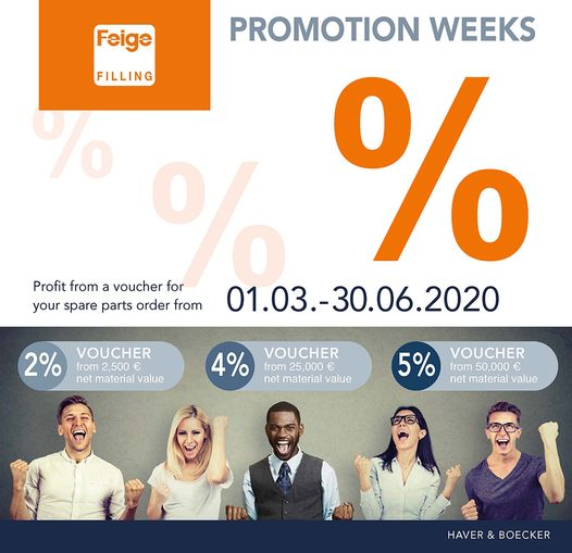 SERVICE PROMOTION WEEKS 2020